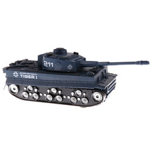 1/32 German Tiger Battle Tank WWII Army Vehicle Model Toy - Navy Blue(China)