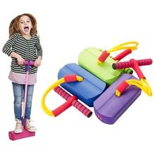 1шт открытый игрушки Прыжки обувь спортивная игрушка пены Прыжки игры ловкость, лягушки балансировочного тренинга для ребенка, тренажерный зал ребенка развивающие игрушки