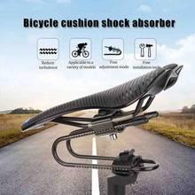 Dispositif de Suspension de selle de vélo, pour vtt, vtt, vélo de route, amortisseur à ressort en acier allié, pièces de cyclisme confortables