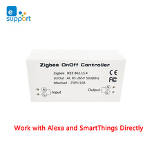 Zigbee DIY מתג שלט רחוק לעבוד עם Alexa ו SmartThings ישירות, עבודה עם ewelink רכזת