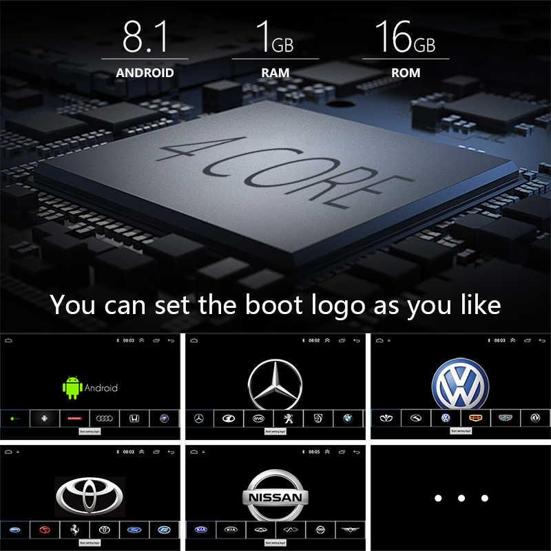 """アンドロイド 8.1 2Din 7 """"カーラジオマルチメディアプレーヤーユニバーサル autoradio GPS ミラーリンクフォルクスワーゲン日産トヨタ CR-V"""