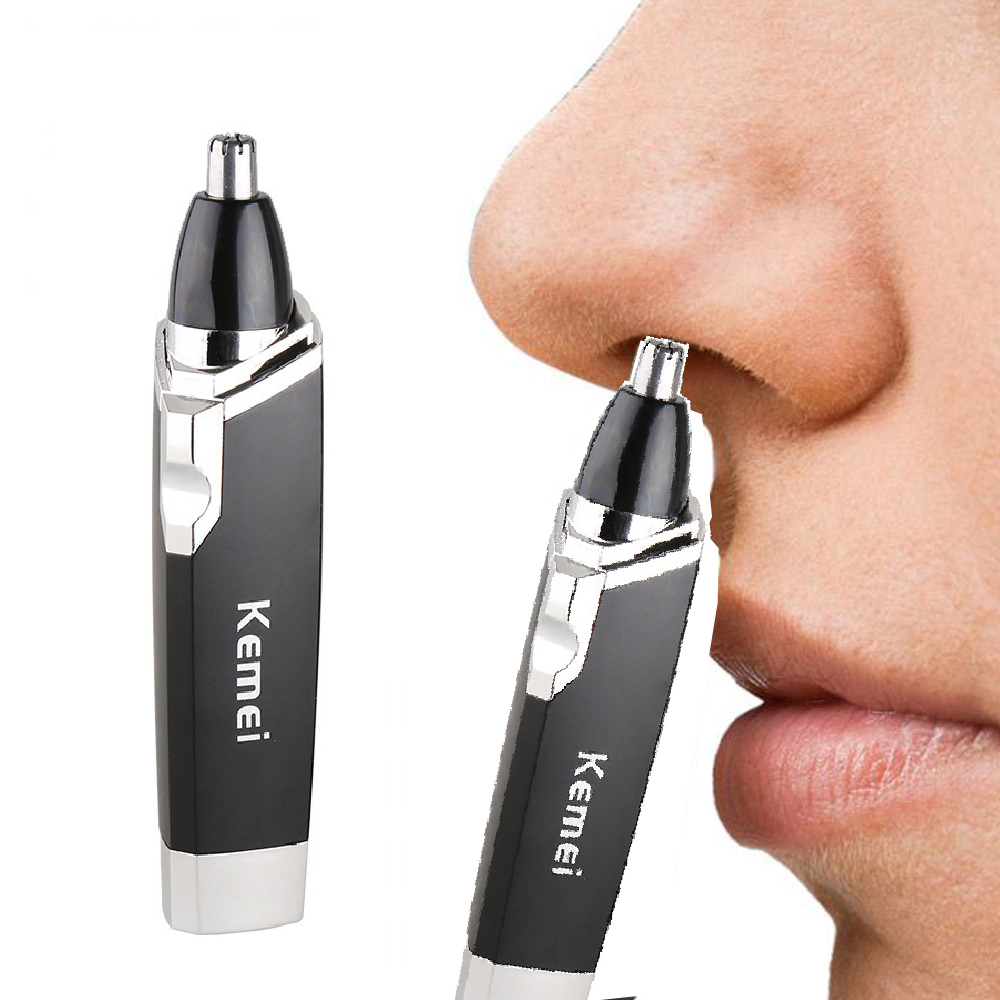 Kemei  Nose Hair Trimmer Nasal Wool Implement Nose Hair Cut Washed Trimmer Clipper And Hair Razor Epilator Remover Nosehai