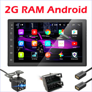 2 Din Android Car radio Multimedia GPS Video Player 2DIN For Volkswagen Nissan Hyundai Kia toyota LADA Ford Chevrolet ISO 2G RAM