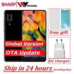 SHARP AQUOS C10 S2 смартфон с восьмиядерным процессором Snapdragon 630, ОЗУ 4 Гб, ПЗУ 64 ГБ, 12 Мп, 2700 мАч