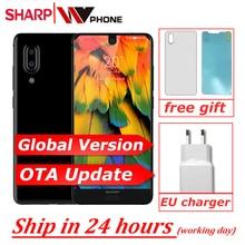 AQUOS C10 S2 SmartPhone אנדרואיד 8.0 4GB + 64GB 5.5 FHD + Snapdragon 630 אוקטה Core פנים מזהה NFC 12MP 2700mAh 4G
