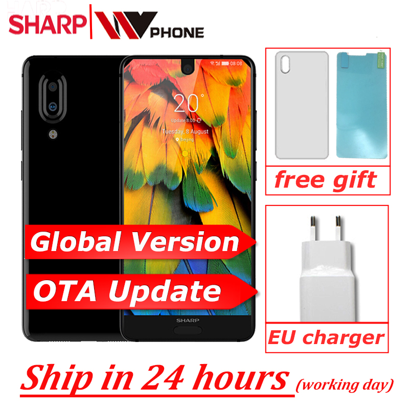 SHARP AQUOS C10 S2 SmartPhone Android 8.0 4GB+64GB 5.5'' FHD+ Snapdragon 630 Octa Core Face ID NFC 12MP 2700mAh 4G
