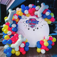75pcs Pets Dog Paw Latex Balloons Animal Theme Party Decor Kids Classic Toys Arch Chain Globos Helium Air Inflatable Ball Supply
