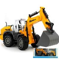 Large Size Children Forklift Bulldozer Toy Inertia Engineering Vehicle Model Beach Toy Car