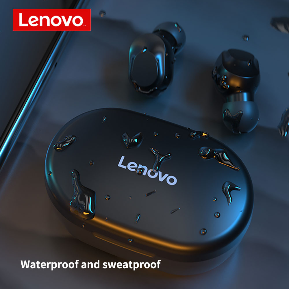 2020 New Lenovo TWS Wireless Earphone XT91 Bluetooth 5 0 Earbuds 300mAh Battery Intelligent Noise Reduction For Android Phone