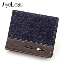 Business Card Holder For Men Wallet Male Purse Cuzdan Small Money Bag Klachi Por