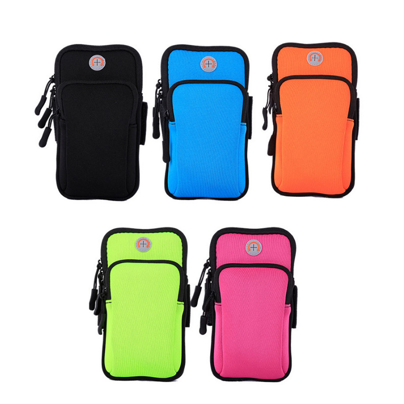 Armband-Bag Cover-Holder Jogging Sport Outdoor Running Case Arm-Pouch Universal Gym Waterproof