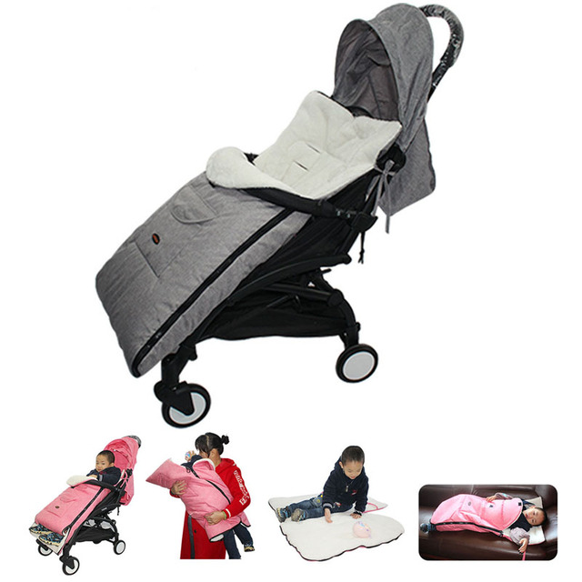 Multifunctional Baby Warm Sleeping Bag Baby Stroller Snow Cover Foot Cover Universal Stroller Accessories Leg Cover Winter