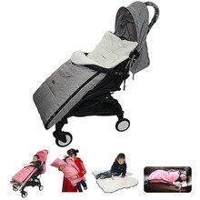 Multifunctional Baby Warm Sleeping Bagรถเข็นเด็กทารกSnow Cover Universalรถเข็นเด็กอุปกรณ์เสริมขาฤดูหนาว