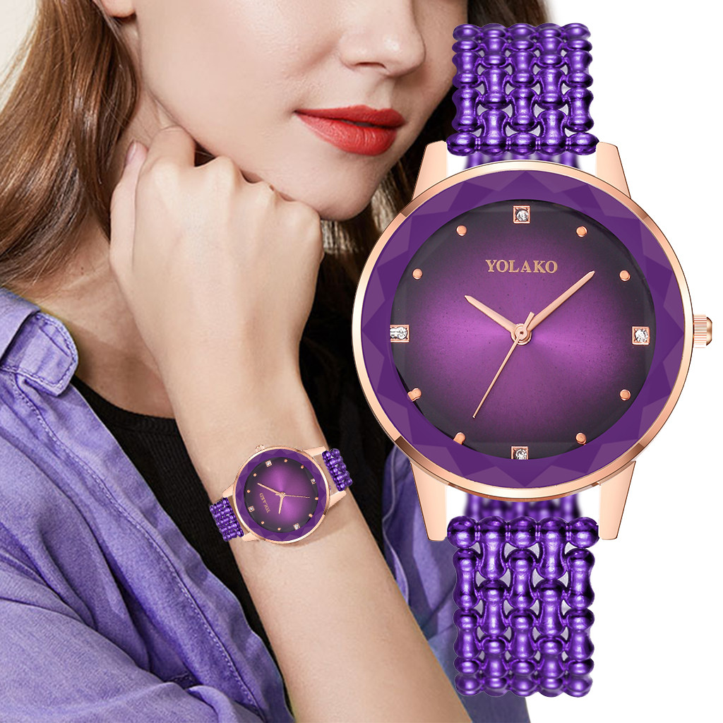 Dress Elegant Ladies Wristwatch Fashion Woman Bracelet Flower Analog Quartz Watch Women Belt Watches Kids Birthday Gift