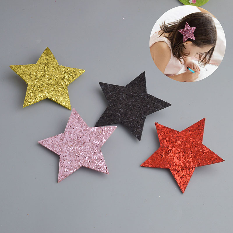 New Girls Cute Cartoon Star Geometric Hairpins Sweet Hair Clips Barrettes Headband Kids Fashion Hair Accessories