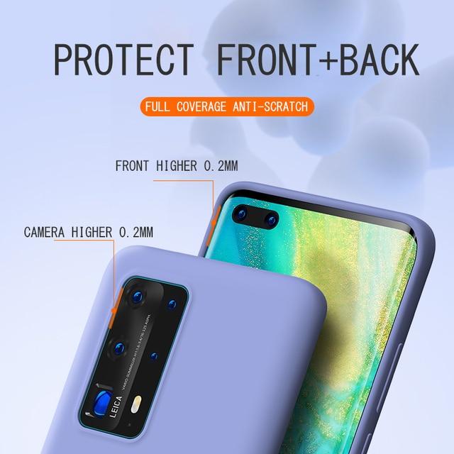Liquid Silicone Candy Case For Samsung Galaxy A51 A71 A81 A91 A01 A11 A21 A31 A41 A50 A70 S20 Ultra S10 Plus Note 10 Lite Cover 4