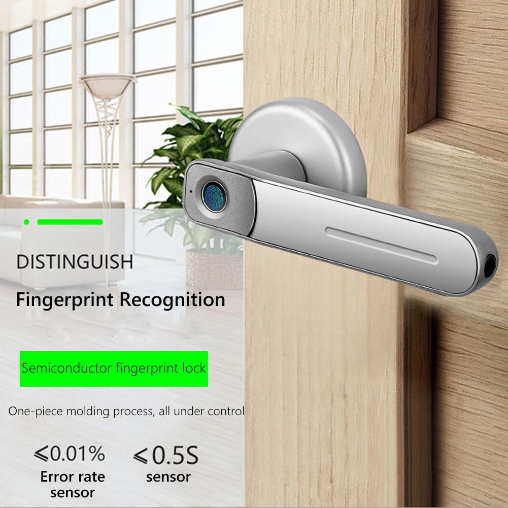 2 ключа для дома и офиса с электронный ключ чувствительный интеллигентая (ый) биометрический замок порт дигитальный с отпечатками пальцев з...