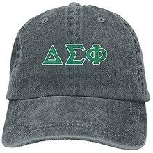 Регулируемая хлопковая кепка Delta Sigma Phi