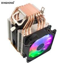 Efficient Cooling Universal CPU Cooler Fan 3Pin For Intel LGA 1150 1151 1155 1156 I3 I5 I7 AMD AM2 AM3 AM4 quiet air volume 2011