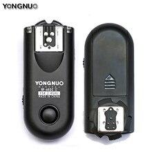 Светодиодная лампа для видеосъемки Yongnuo вспышка триггера RF-603II C RF603c C1 C3 II RF 603 2 трансиверы для Canon 5DII 1D 6D 7D 50D 60D 500D 600D 1000D ti5 ti6