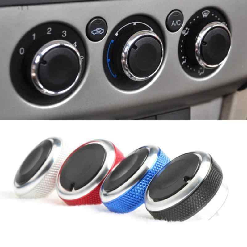 3 Stks/partij Auto Airconditioning Warmte Controle Switch Knop Auto Styling Voor Ford Focus 2 MK2 Focus 3 MK3 Mondeo ac Knop Auto Styling