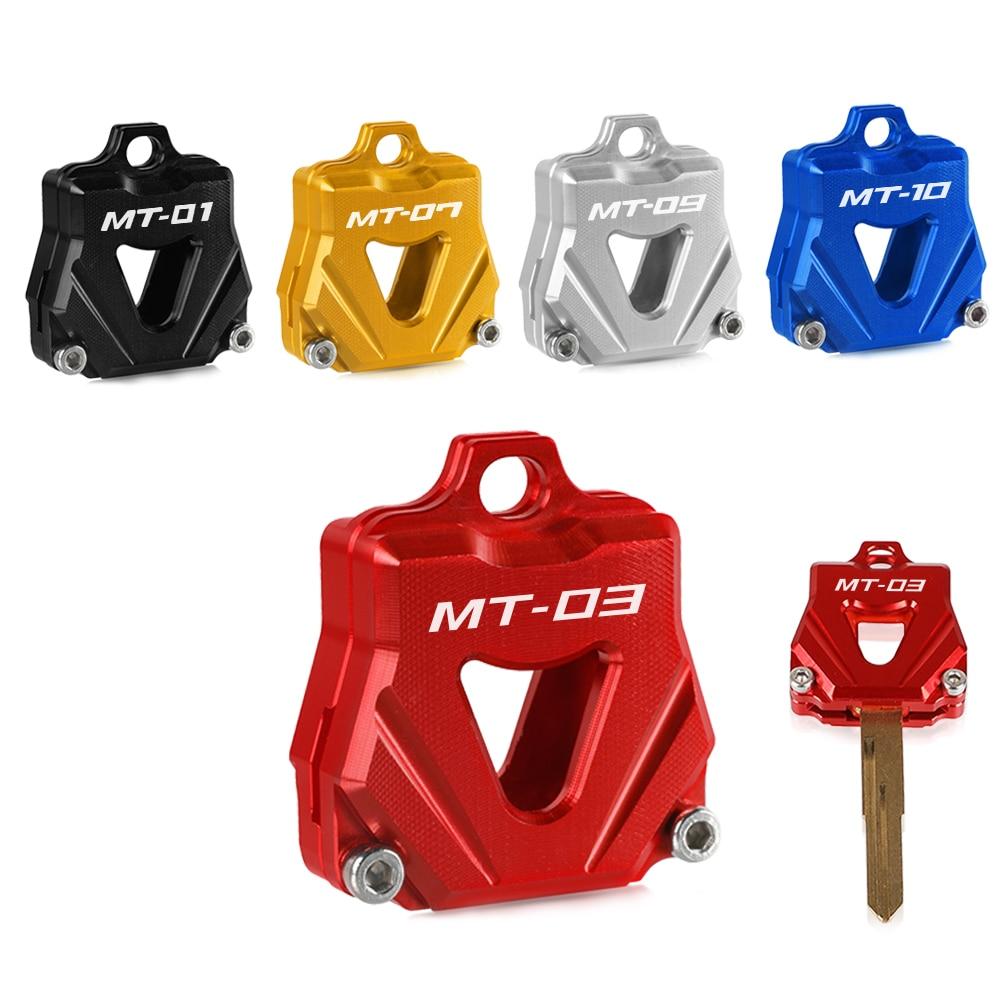 Для Yamaha MT01 MT03 MT07 MT09 MT10 крышка ключа CNC мотоцикла креативные продукты чехол для ключей крышка MT 01 03 07 09 10 Аксессуары