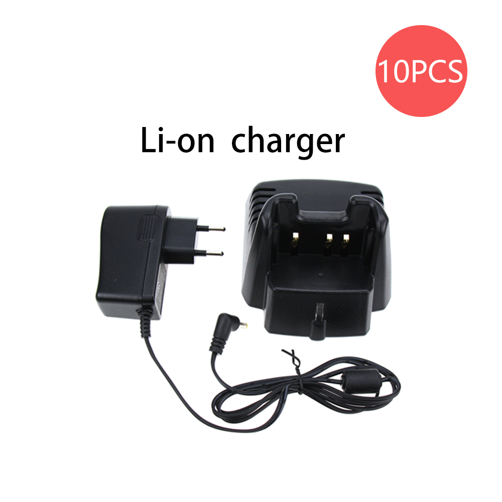 10X CD-34 Desktop Rapid Battery Charger For Vertex Handheld Radio VX-351 VX-354 VX351 VX354