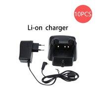 34 10X CD-34 Desktop Rapid Battery Charger for Vertex Handheld Radio VX-351 VX-354 VX351 VX354 (1)