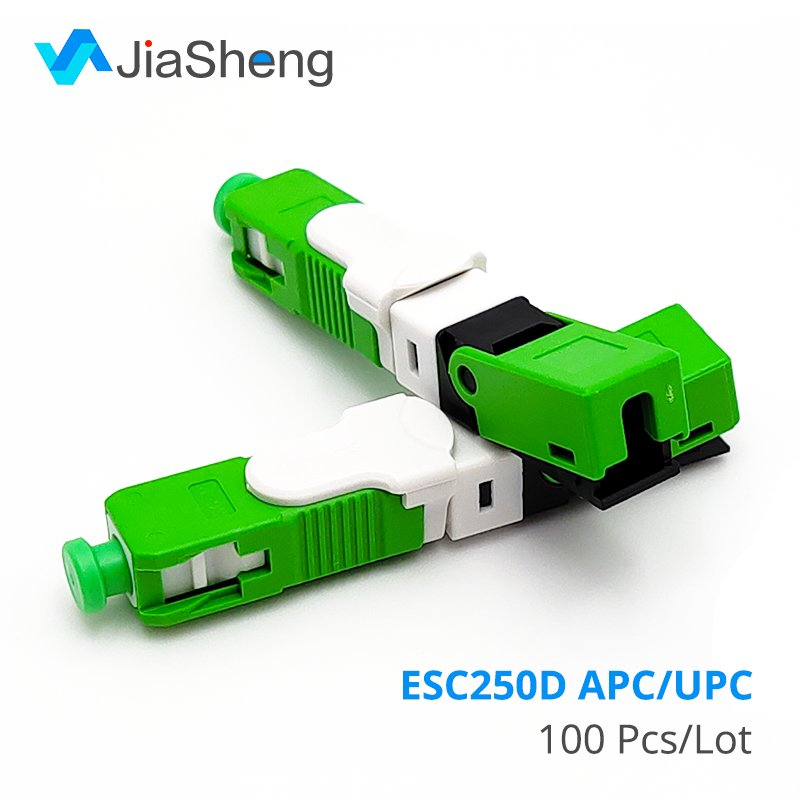 Free Shipping  FTTH ESC250D SC APC And SC UPC Single-Mode Fiber Optic New Model  Optic Fast Connector