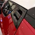 Для Toyota C-HR CHR 2017 2018 ABS углеродное волокно Водная передача печать дверная ручка Чаша внешняя крышка отделка Аксессуары 6 шт
