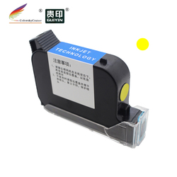 """S127 szybkoschnący tusz do drukarki atramentowej Eco Solvent do inteligentnego  poręcznego drukarki atramentowej Q R drukarka kodów koder 600DPI wysokość druku 1/2 """"12.7mm w Tusze do drukarek od Komputer i biuro na"""