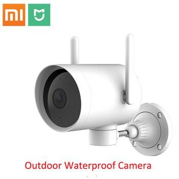 2019 Xiaomi Smart Outdoor Camera Waterdichte Ptz Webcam 270 Hoek 1080P Dual Antenne Signaal Wifi Ip Cam Nachtzicht mihome App