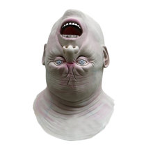 Horrible Mask Halloween Cosplay Costume Latex Adult Terror Full Head Face Reverse Fancy Ball Helmet Props Scary Masks  #