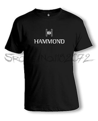 Hammond Logo T-Shirt | Orgel | Leslie | Keyboard | Analog | Synthesizer men cotton t-shirts 4XL 5XL euro size drop shipping