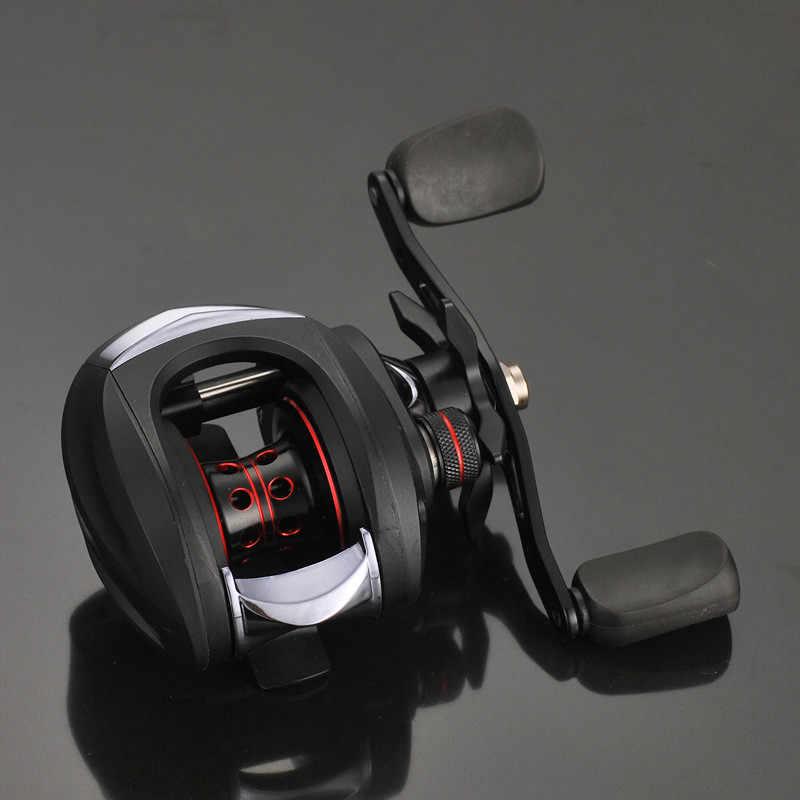 Anti-pourriture meilleur appât moulinet 6.3: 1 13 + 1BB basse pêche moulinet 6KG résistance maximale gauche, droite moulinet matériel amélioré
