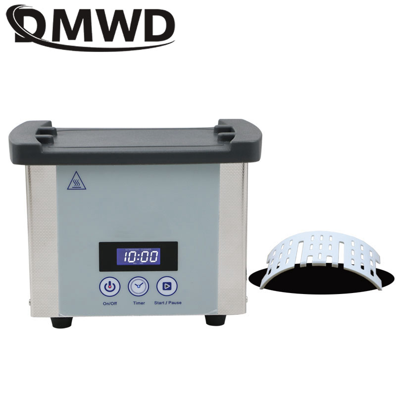 Digital Ultrasonic Cleaner Bath Stainless Steel Washer Glasses Jewelry Circuit Board Ultrasound Wave Cleaning Machine 110V/220V