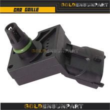 3 Bar MAP Sensor Manifold Intake Air Turbo Boost Pressure For VOLVO S40 S60 S80 2.4 2.5 3.0 D D5 T5 30622083 31303975 31355463(China)