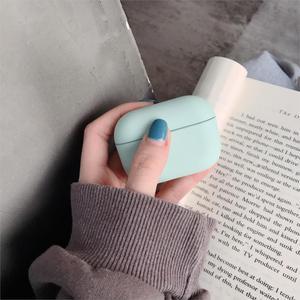 Оригинальный жесткий чехол для Apple AirPods Pro, 2019, Роскошный Матовый беспроводной чехол для наушников с песчаником, Air Pods 3 2, милый чехол карамельного цвета