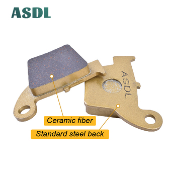 Motorcycle Rear Brake Pads For HONDA CRM 125 2011R CRM 125 R CRM F 450 R/X Supermoto CRM F 490 X Supermoto For MEGELLI 125 M #5 image