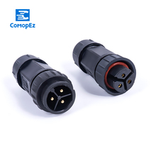 1Pc Cable Connector Waterproof IP68 20A Electrical Wire Sealed Retardant 2 3 4 5 6 7 8pin LED Light Connectors for Outdoor