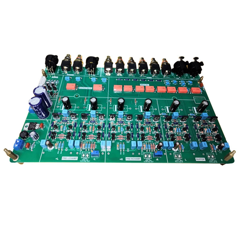 Finished Pure Preamplifier DALE + BC + ELNA II + Chemicon Audio Bryston BYT BP26