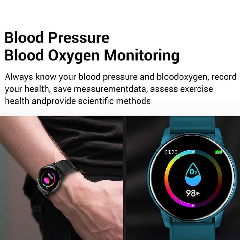 Intelligente Della Vigilanza Donne Degli Uomini di Frequenza Cardiaca Monitor di Pressione Sanguigna di Previsioni Meteo LEMFO Smartwatch Impermeabile Per Android IOS Phone