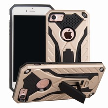 Shockproof For iphone 6 7 8 Plus Case Stand Armor Phone Holder 5 5S SE kickstand full back cover phone shell protector