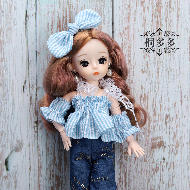 12 Inches Princess 30cm Joints BJD Suit Series Doll Toys for Girls Children Birthday Christmas Gifts 14