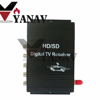 Car digital tv tuner Car M 288X ISDB-T 1 seg Digital TV receiver for Car DVD monitor for South America