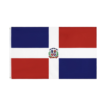 WN 60X90 90X150cm DO Dominican Republic Dominica Flag For Decoration image