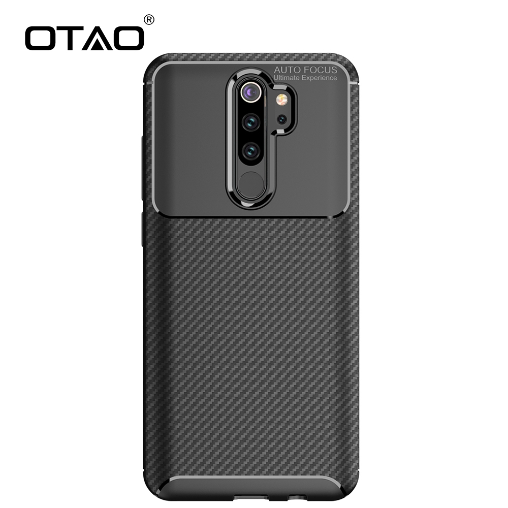 OTAO <font><b>Soft</b></font> <font><b>Silicone</b></font> <font><b>Case</b></font> <font><b>For</b></font> <font><b>Xiaomi</b></font> Redmi Note 8 7 6 5 Pro K20 8A 7A Carbon Fiber <font><b>Case</b></font> <font><b>For</b></font> <font><b>Mi</b></font> 8 Lite <font><b>9</b></font> CC9E F1 <font><b>Shockproof</b></font> Cover image