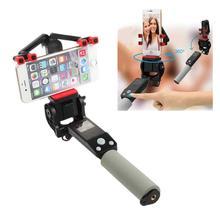 Bastão de selfie rc com rotação 360 °, vara de selfie com bluetooth, sem fio e panorâmica, autorotação, destacável, controle remoto com bluetooth