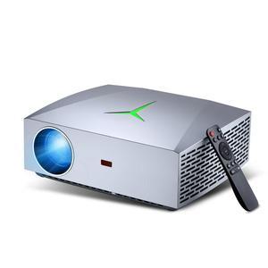 VIVIBRIGHT Новый F40 светодиодный проектор F40UP WiFi Android 1080P видео игровой проектор для домашнего кинотеатра 4200 люмен 1920x1080