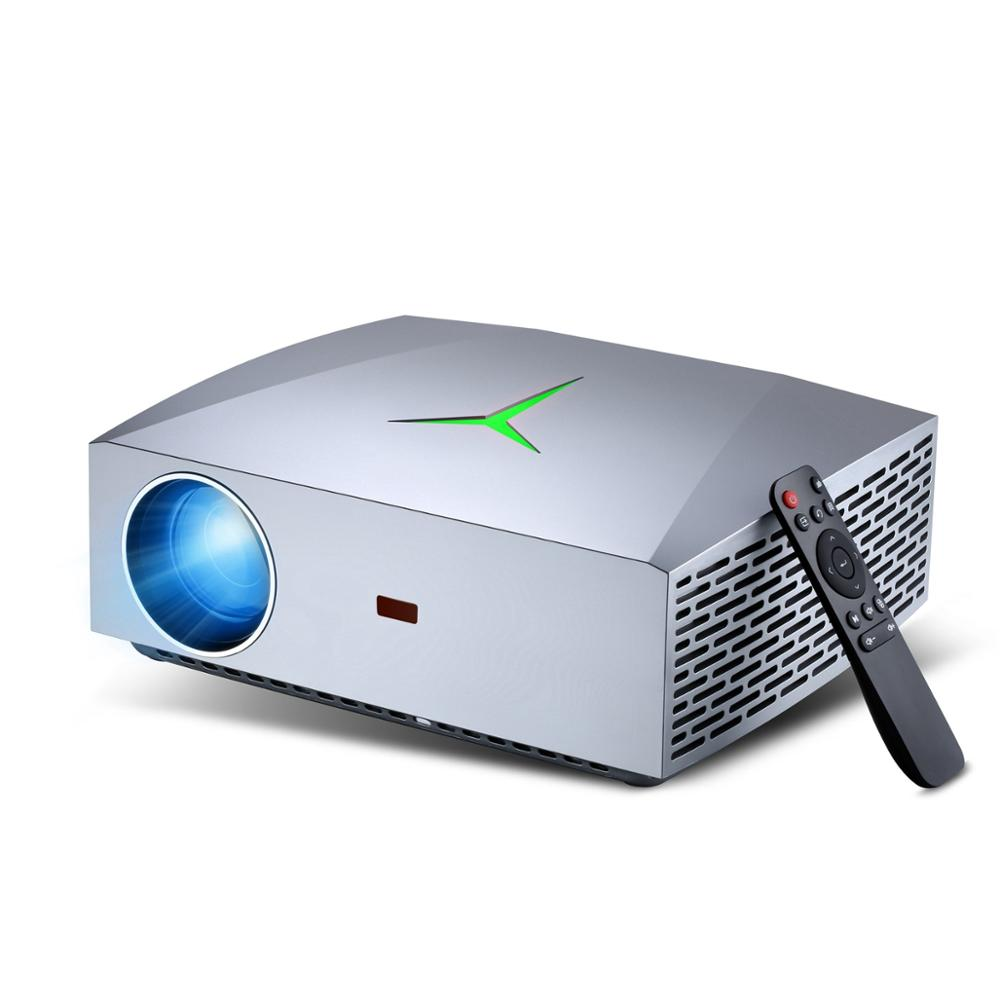 VIVIBRIGHT New F40 LED Projector F40UP WiFi Android 1080P Video Game Projector For Home Theart Cinema 4200 Lumens 1920x1080